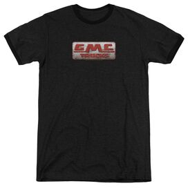Gmc Beat Up 1959 Logo Adult Ringer Black