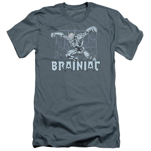 Dc Brainiac Premuim Canvas Adult Slim Fit