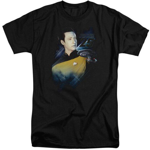 Star Trek Data 25 Th Short Sleeve Adult Tall T-Shirt