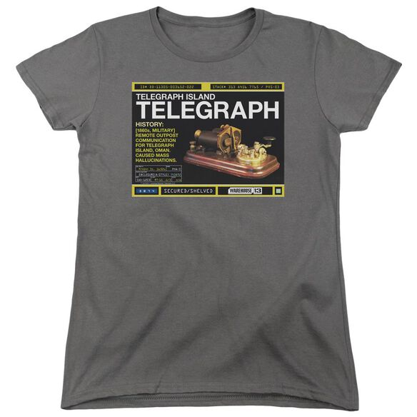 Warehouse 13 Telegraph Island Short Sleeve Womens Tee T-Shirt