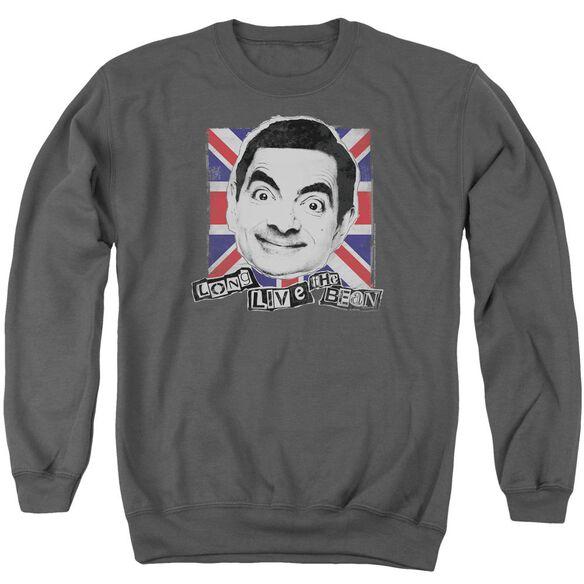 Mr Bean Long Live Adult Crewneck Sweatshirt