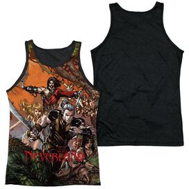 Zenoscope Neverland Adult Poly Tank Top Black Back