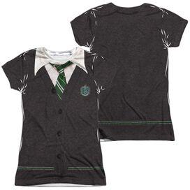 Harry Potter Slytherin Uniform (Front Back Print) Short Sleeve Junior Poly Crew T-Shirt