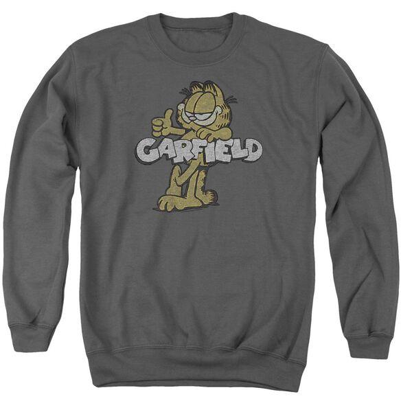 Garfield Retro Garf Adult Crewneck Sweatshirt