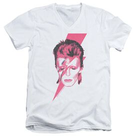 David Bowie Aladdin Sane Short Sleeve Adult V Neck T-Shirt