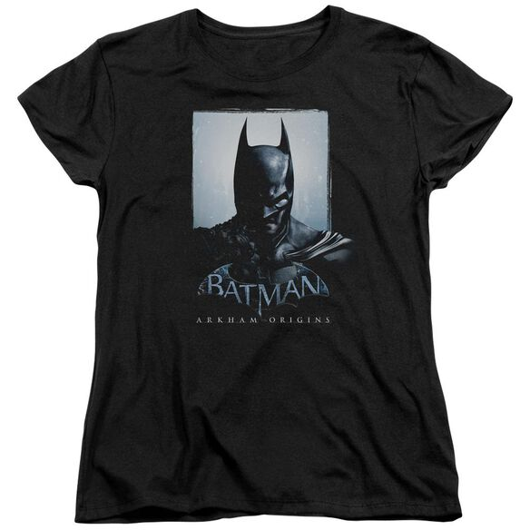 Batman Arkham Origins Two Sides Short Sleeve Womens Tee T-Shirt