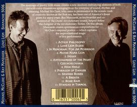 Ray Manzarek & Michael McClure - Love Lion