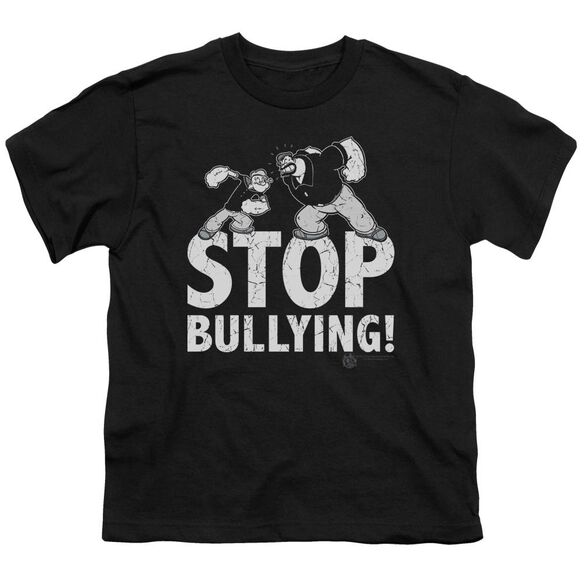 Popeye Stop Bullying Short Sleeve Youth T-Shirt