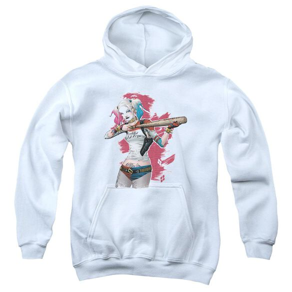Suicide Squad Bat Aim Youth Pull Over Hoodie