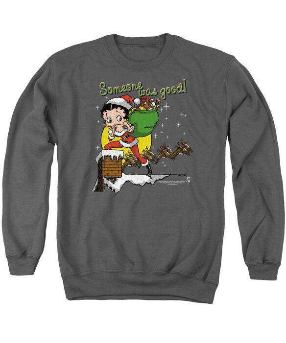 Betty Boop Chimney Adult Crewneck Sweatshirt