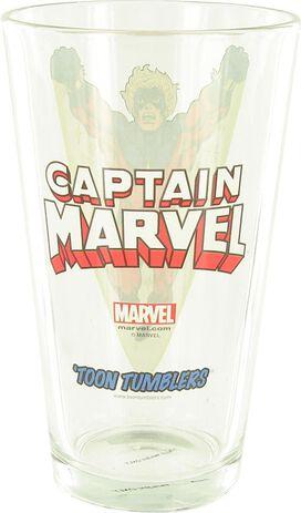 Captain Marvel Pint Glass