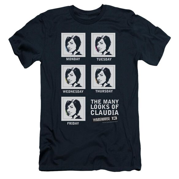 Warehouse 13 Many Looks Short Sleeve Adult T-Shirt
