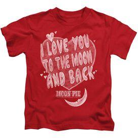 Moon Pie I Love You Short Sleeve Juvenile T-Shirt