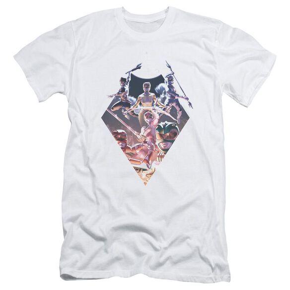 Power Rangers Sdcc Ranger Diamond 2 Hbo Short Sleeve Adult T-Shirt