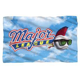 Major League League Logo Fleece Blanket