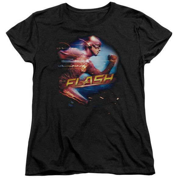 The Flash Fastest Man Short Sleeve Womens Tee T-Shirt