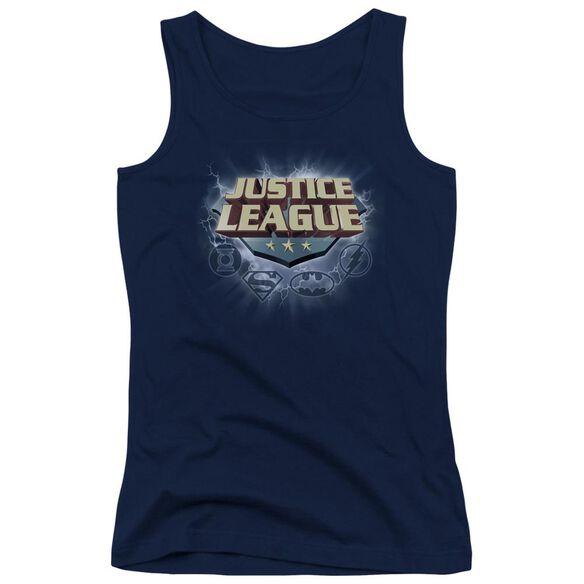 Jla Storm Logo Juniors Tank Top