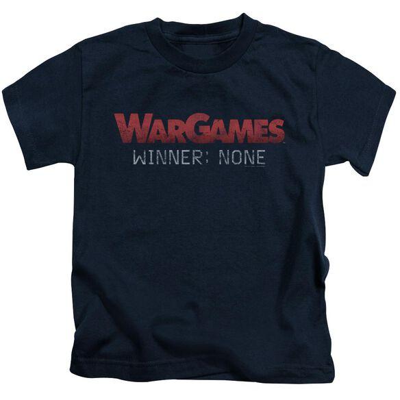 Wargames No Winners Short Sleeve Juvenile T-Shirt
