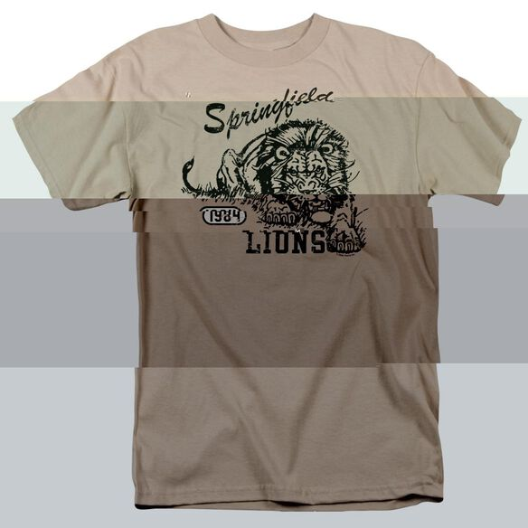 SPRINGFIELD LIONS - ADULT 18/1 - SAND T-Shirt