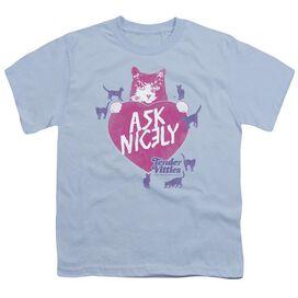 Tender Vittles Nicely Short Sleeve Youth Light T-Shirt