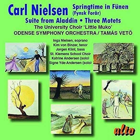 Tamas Veto / Odense Symphony Orchestra - Nielsen: Springtime In Funen - Suite From Aladdin