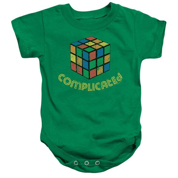 Complicated Infant Snapsuit Kelly Green Md
