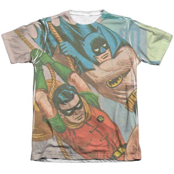 Batman Classic Tv Nightly Patrol Adult Poly Cotton Short Sleeve Tee T-Shirt