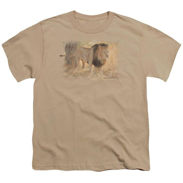 Wildlife Shumba In The Grass Short Sleeve Youth T-Shirt