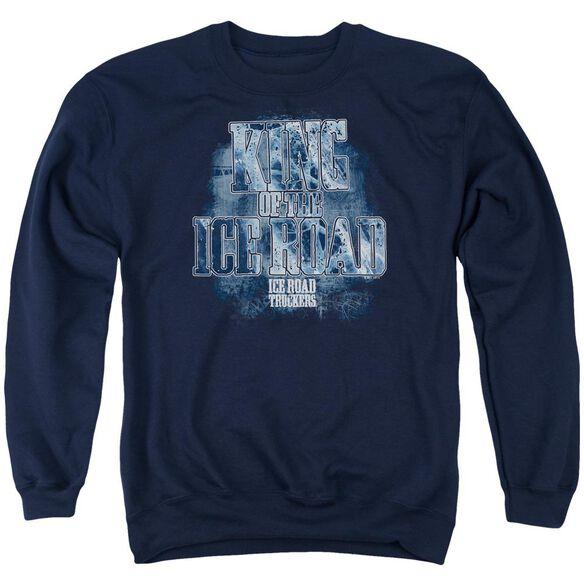 Ice Road Truckers King Of The Ice Road Adult Crewneck Sweatshirt