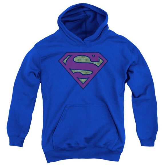 Superman Little Logos Youth Pull Over Hoodie