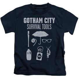 Gotham Survival Tools Short Sleeve Juvenile Navy T-Shirt