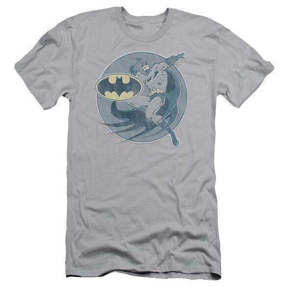 Dco Retro Batman Iron On Short Sleeve Adult T-Shirt