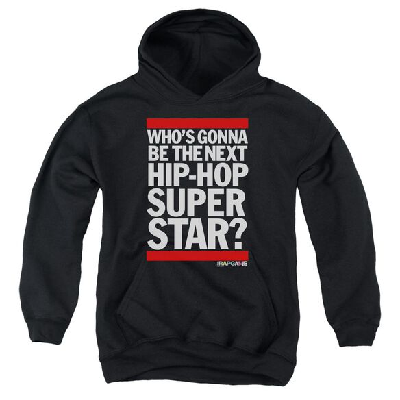 The Rap Game Next Hip Hop Superstar Youth Pull Over Hoodie