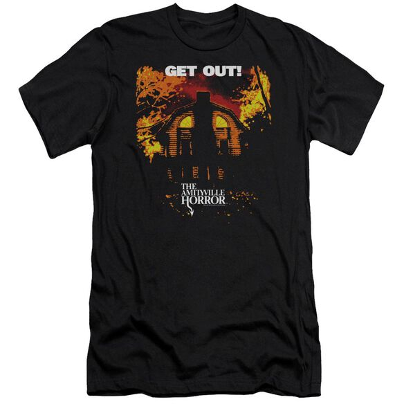 Amityville Horror Get Out Premuim Canvas Adult Slim Fit
