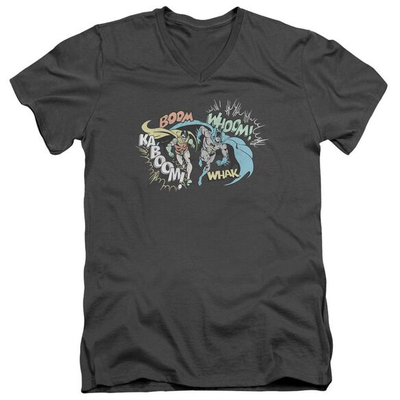 Dco Action Duo Short Sleeve Adult V Neck T-Shirt
