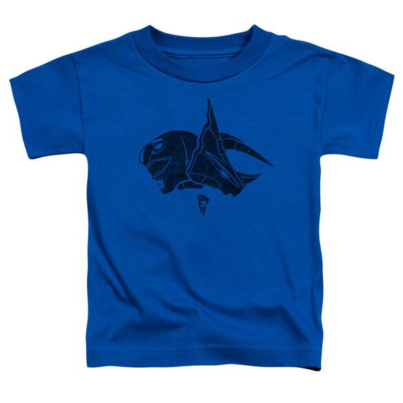Power Rangers Blue Short Sleeve Toddler Tee Royal Blue T-Shirt