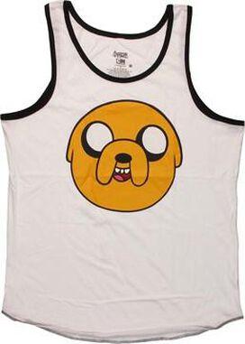 Adventure Time Jake Head Tank Top