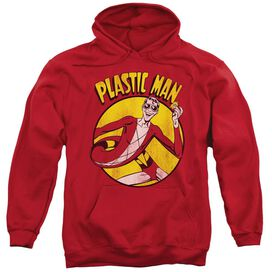 Dc Plastic Man Adult Pull Over Hoodie