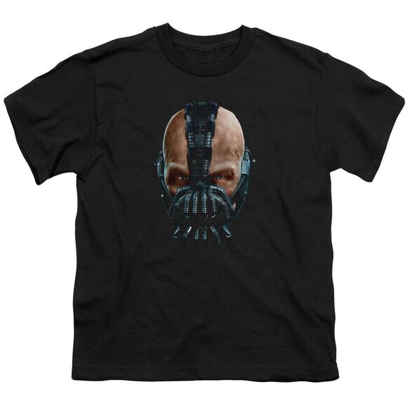Dark Knight Rises Painted Bane Short Sleeve Youth T-Shirt