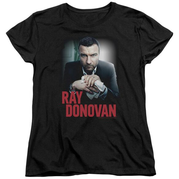 Ray Donovan Clean Hands Short Sleeve Womens Tee T-Shirt