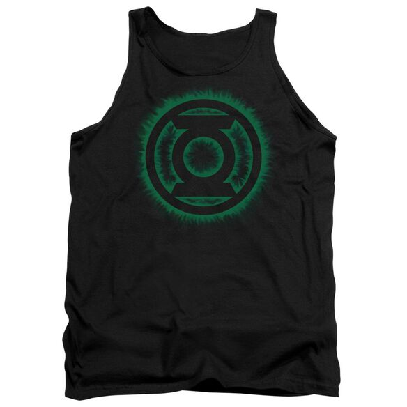 Green Lantern Green Flame Logo Adult Tank