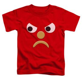 Gumby Blockhead G Short Sleeve Toddler Tee Red T-Shirt