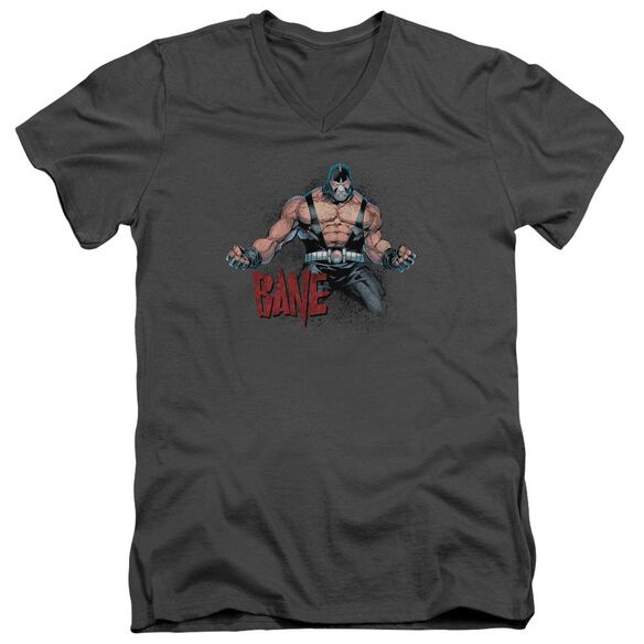 Batman Bane Flex Short Sleeve Adult V Neck T-Shirt