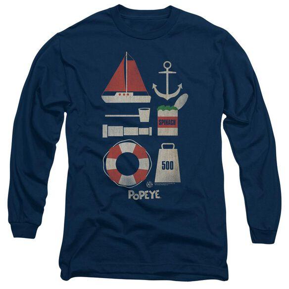 POPEYE ITEMS-L/S T-Shirt