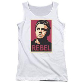Dean Rebel Campaign Juniors Tank Top