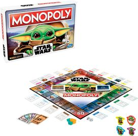 Hasbro - Monopoly: Star Wars The Child Edition Board Game