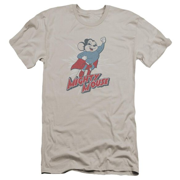 Mighty Mouse Mighty Blast Off Premuim Canvas Adult Slim Fit