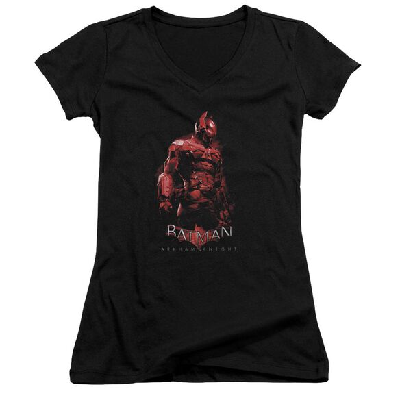 Batman Arkham Knight Knight Junior V Neck T-Shirt