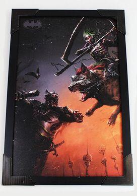 Batman Who Laughs Joker Battle Wall Art 11x17