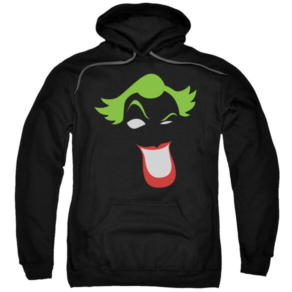 Batman Joker Simplified Adult Pull Over Hoodie